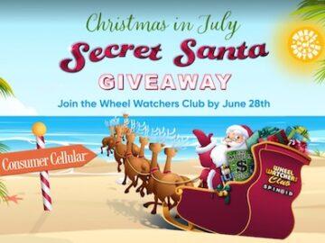 Wheel of Fortune Summer Secret Santa Giveaway