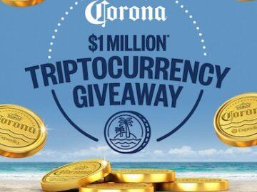 Corona $1 Million Triptocurrency Giveaway