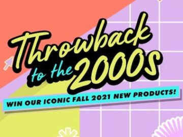 NYX Cosmetics Throwback with Iconic Classics Sweepstakes