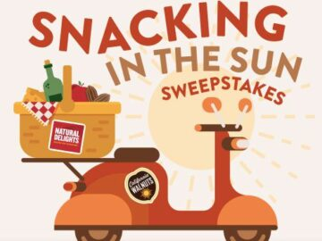 Natural Delights Snacking in the Sun Sweepstakes