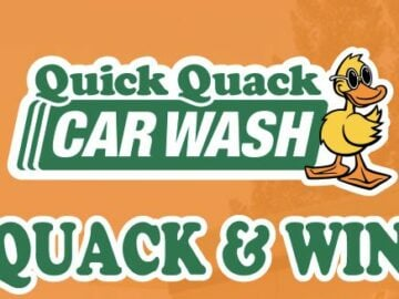 Quick Quack Car Wash Sweepstakes (Limited States)