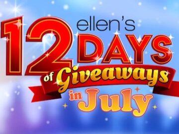 Ellen's 12 Days of July Giveaway