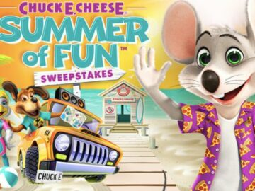 Chuck E. Cheese Summer of Fun Sweepstakes