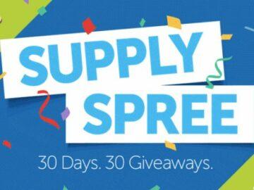 School Specialty Supply Spree 2021