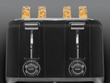 Proctor Silex Wide-Slot 4 Slice Toaster Giveaway