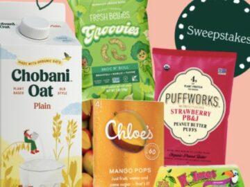 Chobani Super Snackin' Sweets Sweepstakes
