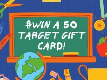 Sweepstakes Fanatics Back to School Target Giveaway