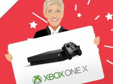 Ellentube Win an Xbox One X Sweepstakes