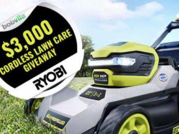 Bob Vila's $3,000 RYOBI Yard Care Giveaway