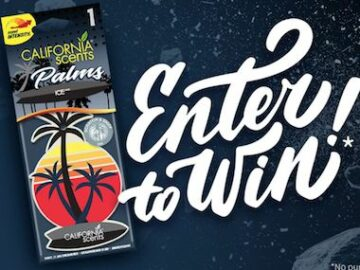 California Scents Air Freshener Giveaway