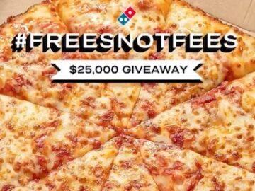 Dominos Surprise Fees Giveaway (Twitter / Instagram)