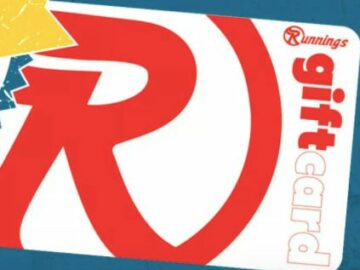Runnings Great Big August Giveaway