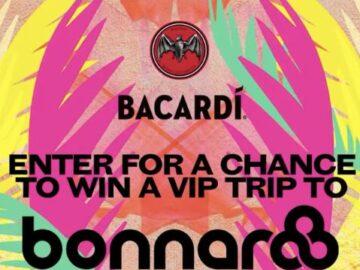 Bacardi Live Nation Festival Flyaway Sweepstakes