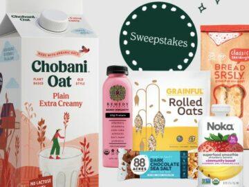 Chobani Super Snackin' Sweeps