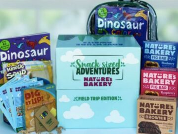 Nature's Bakery Snack Sized Adventure Sweepstakes