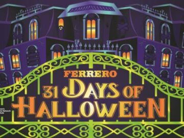 Ferrero 31 Days of Halloween Countdown Calendar Sweepstakes (Free Entry)