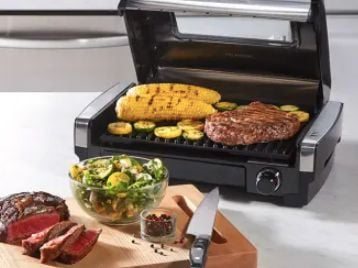 Hamilton Beach Searing Grill with Window Giveaway