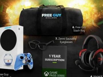 Celebrating the Release of Free Guy Xbox Sweepstakes (Twitter)