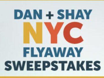 CMT Cody Dan + Shay NYC Flyaway Sweepstakes