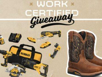 Dan Post Boots Work Certified Giveaway
