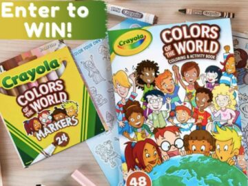 Crayola Colors of the World Back to School Sweepstakes
