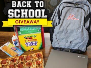 Ledo's Pizza Back to School Giveaway