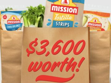 Mission Win Free Groceries for a Year Sweepstakes (TX and LA Only)