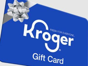 Mississippi Kroger Gift Card Giveaway