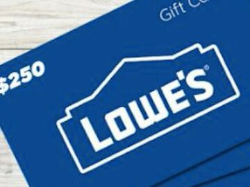 Get Outside With Lowes Giveaway