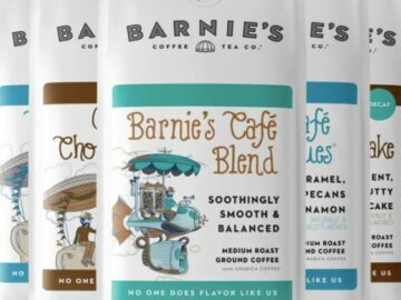 Barnie's Coffee for a Year Giveaway