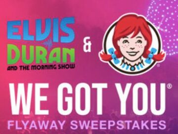 Elvis Duran and the Morning Show's Wendy's Flyaway Sweepstakes 2