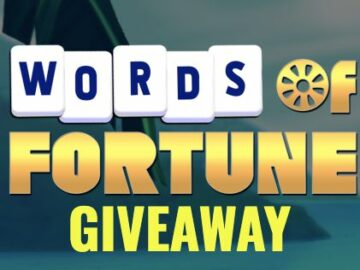 Wheel of Fortune Words of Fortune Sweepstakes (App Download)