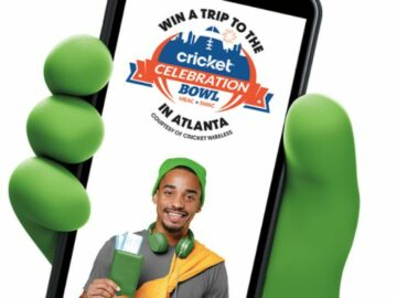 Cricket Wireless 2021 Celebration Bowl Sweepstakes