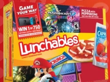 Lunchables Game Your Way Sweepstakes and Instant Win Game (Code)