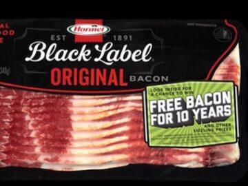 Hormel Black Label Bring Home the Bacon Giveaway