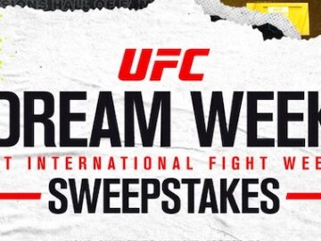 UFC Dream Week Sweepstakes