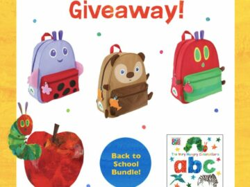 World of Eric Carle Backpack Sweepstakes