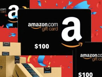 Showtimes.com $100 Amazon Gift Card Sweepstakes