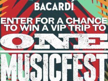 Bacardi Atlanta Festival Flyaway Sweepstakes