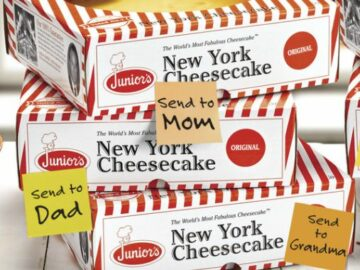 Junior's Fall Cheesecake Giveaway