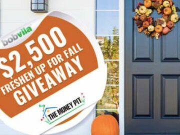Bob Vila's $2,500 Fall Giveaway