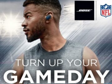 NFL Turn Up With Bose Sweepstakes