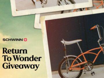 Schwinn Return to Wonder Sweepstakes