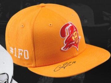 Lids Chris Godwin Signed Hat Giveaway