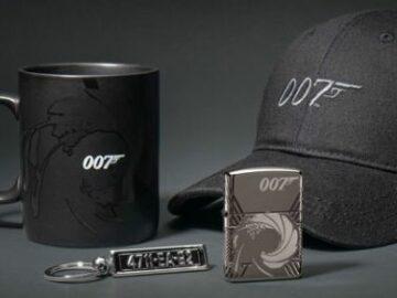 Zippo Lighter James Bond Sweepstakes