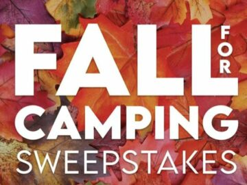RV On the Go Fall for Camping Sweepstakes