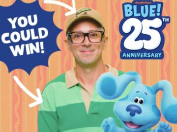 October 2021 Blue's Clues Steve's Shirt Sweepstakes