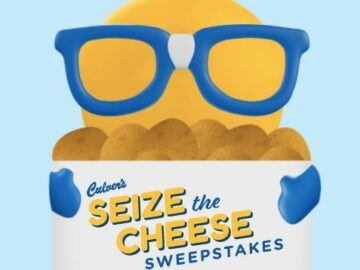 Culver's Seize The Cheese Instant Win Game and Sweepstakes (Limited States)
