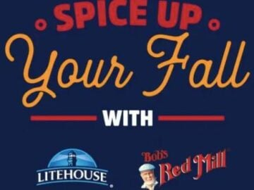 Bob's Red Mill + Litehouse Spice Up Your Fall Sweepstakes