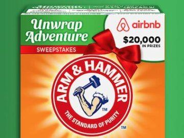 Arm & Hammer Unwrap Adventure Sweepstakes